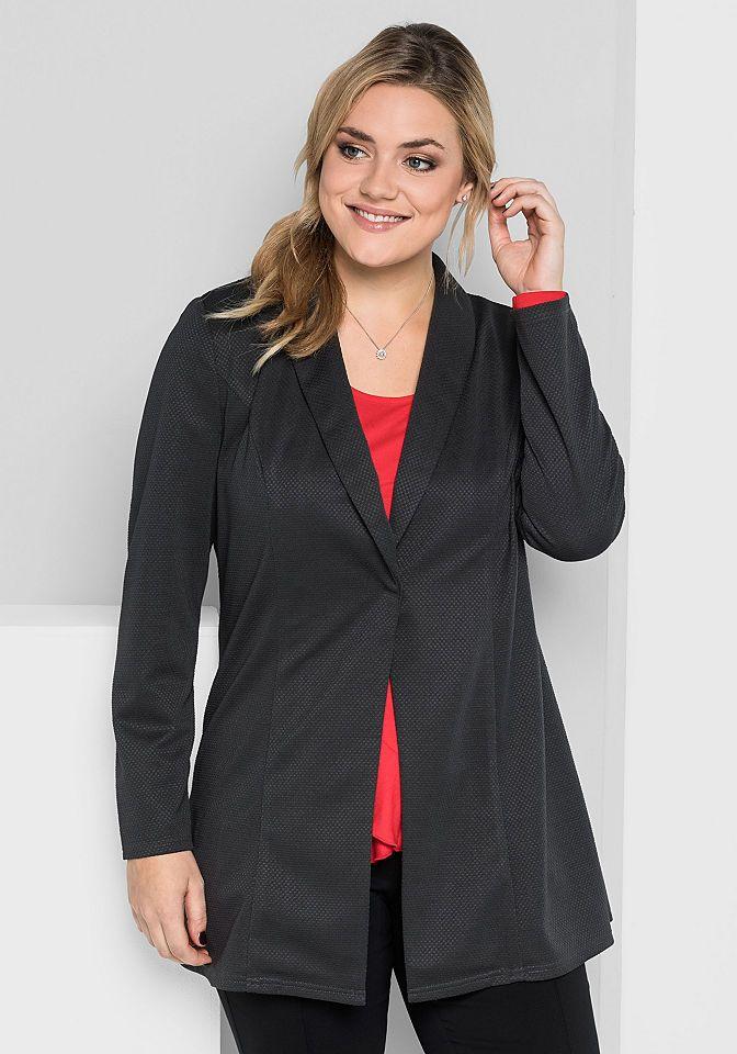 sheego Style Longblazer Jetzt bestellen unter: https://mode.ladendirekt.de/damen/bekleidung/blazer/longblazer/?uid=fd3ab178-ba9b-5f86-ab06-e13e3c4aed4d&utm_source=pinterest&utm_medium=pin&utm_campaign=boards #longblazer #blazer #bekleidung Bild Quelle: baur.de