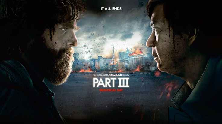 """The Hangover: Part 3"" Review: Somewhat New Formula Packaged in Staleness - Try taking the excellence of the first Hangover and melding it with everything disturbingly annoying from Part 2, and you get a pretty close idea of what Part 3 has to offer. If you loved Alan's (Zach Galifianakis, Due Date) purposeful stupidity, you'll make it through one sitting of Part 3. (Rating: 6.5/10) #Hangover #TheHangoverPartIII #BradleyCooper #EdHelms #ZachGalifianakis #ToddPhillips #Vlizzards"