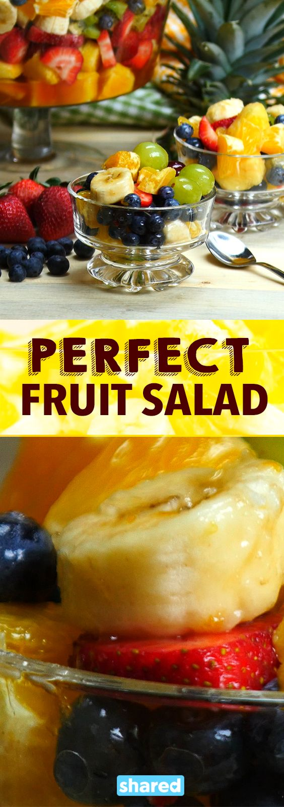 If you are trying to eat healthier, chances are you are going to want to add some fruit to your diet. You deserve to have the Perfect Fruit Salad, and this one is the best of the best!  The yummy sauce really takes the fruit to the next level. Perfect to make for lunches or potlucks, this fruit salad is such a wonderful and healthy treat!