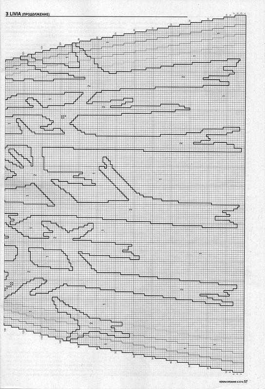 «Черно-белые узоры - несколько моделей из новой Верены». Обсуждение на LiveInternet - Российский Сервис Онлайн-Дневников