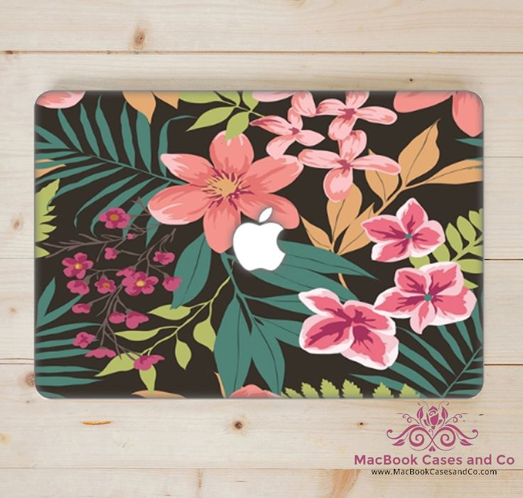 Tropical MacBook Case. MacBook Case. Top (printed) and Bottom (clear) Hard…