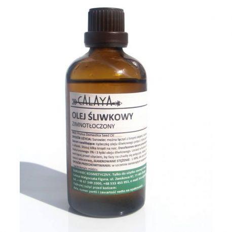 Olej Śliwkowy Ekologiczny Zimnotłoczony - Olej Śliwkowy Ekologiczny zapewni Twojej skórze, włosom i paznokciom intensywne nawilżenie i ochronę. Dlaczego? Dzięki bogactwu kwasów tłuszczowych jak kwas oleinowy omega-9 (aż 68%!) i kwas linolowy omega-6 (24,2%).