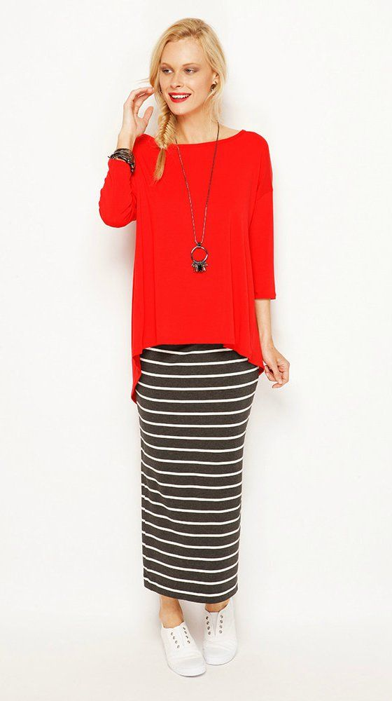 wYse top and maxi skirt