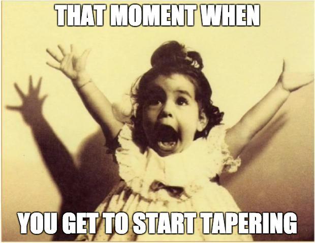 Running humor | Running meme | Running motivation | Run no matter what | Tapering