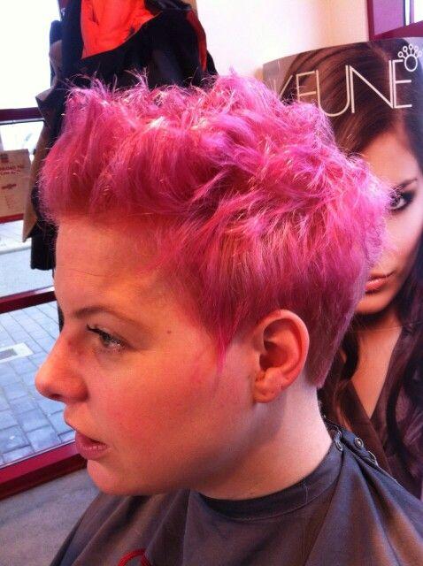 Pink hair #careforhair