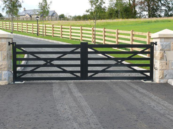 The 25 Best Farm Entrance Gates Ideas On Pinterest