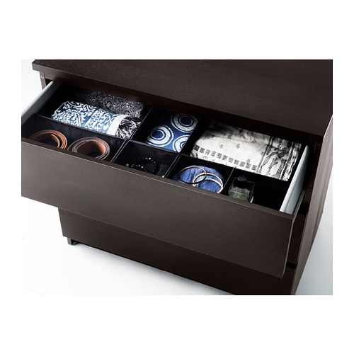 SKUBB Box, set of 6 - black, - - IKEA
