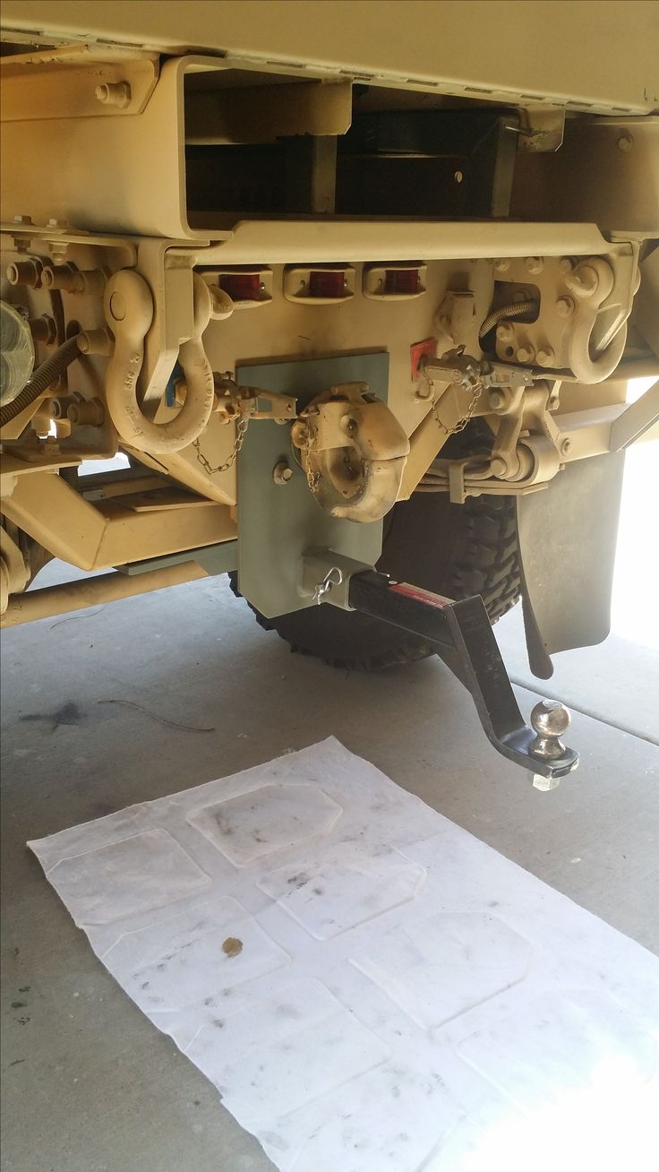 Truck Trailer Hitch >> M-1078 Receive hitch built. | Overland truck, Expedition ...