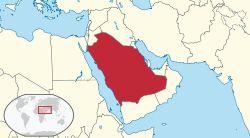 Saudi Arabia in its region.svg