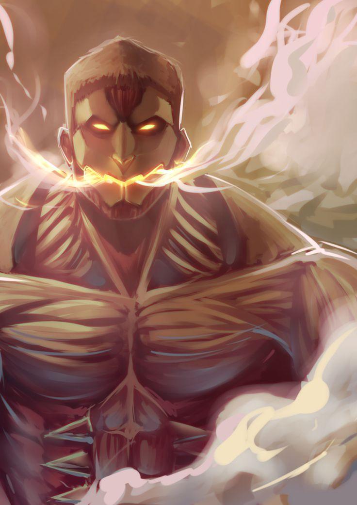 Le titans Cuirassé - L'attaque des Titans