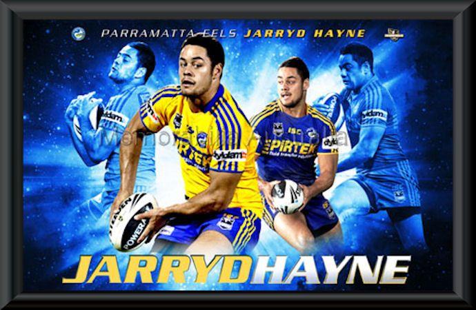 Parramatta Eels Jarryd Hayne