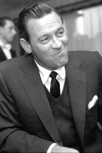William Holden. Looking as William Holden should look.