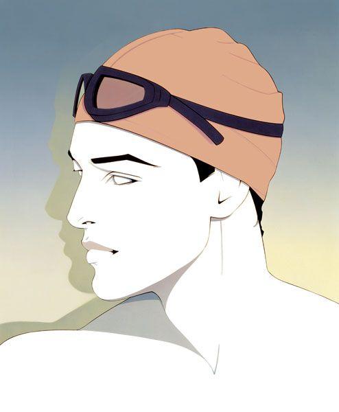 Patrick Nagel // 1301.jpg (494×600) Swim sports Olympic?