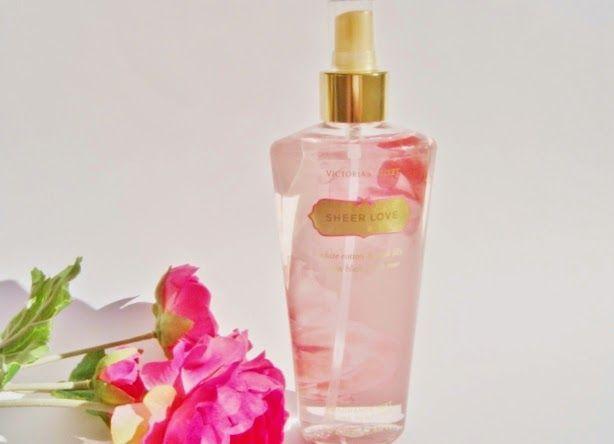 El Espejo de la BELLEZA: Spray Corporal Perfumado Sheer Love de Victoria´s ...