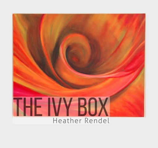 Vibrant colours from Heather Rendel at the Ivy Box Gallery in Queenstown, New Zealand. We love the reds and oranges in this piece, quite topical as we head into Autumn!