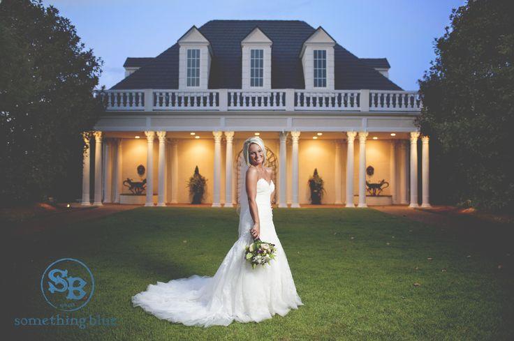 The Hall and Gardens at the Landmark. Garner, North Carolina. Photo Credit: Something Blue