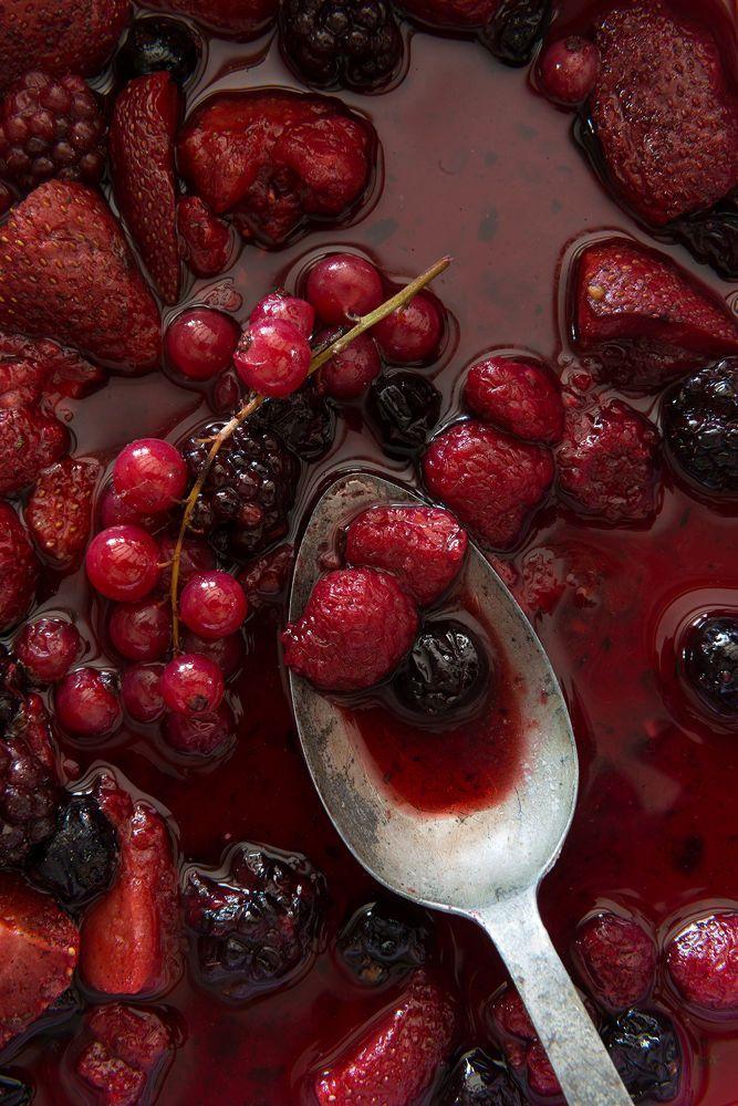 Red berries by Veronika Studer