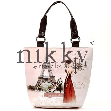 Nikki by Nicole Lee EMMA FAUX LEATHER TOTE in Chandelier #handbags