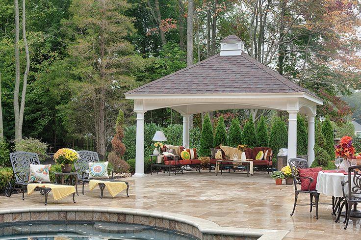 Backyard Pavilions | Wood Pavilions | Stoltzfus Structures