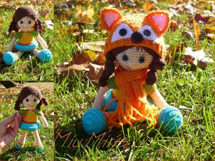 Crochet fox girl... :)