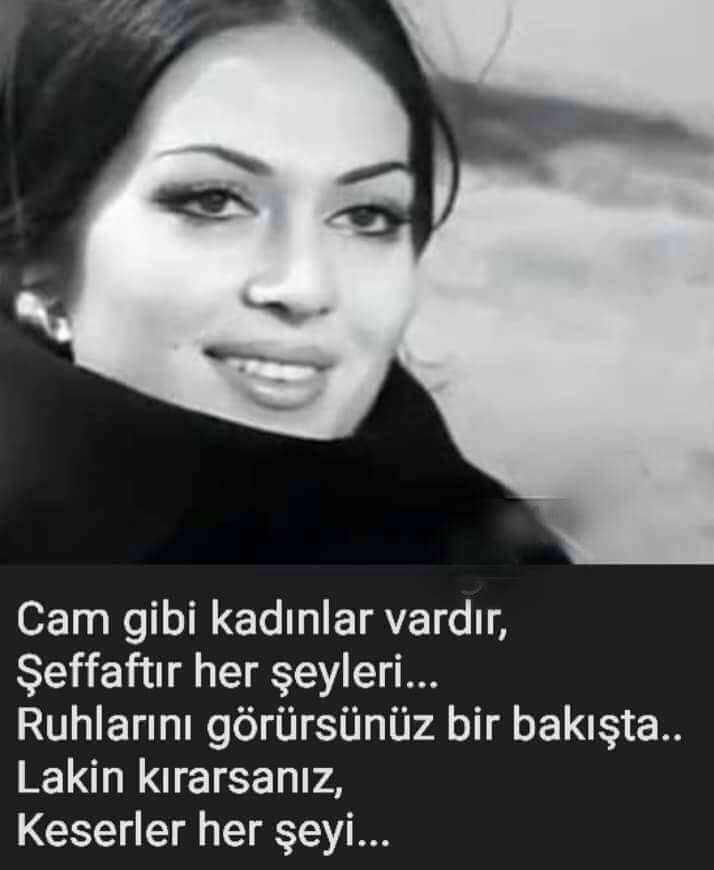 Cam gibi kadınlar vardır, Şeffaftır her şeyleri... Ruhlarını görürsünüz bir bakışta... Lakin kırarsanız, Keserler her şeyi... #sözler #anlamlısözler #güzelsözler #manalısözler #özlüsözler #alıntı #alıntılar #alıntıdır #alıntısözler #şiir #edebiyat