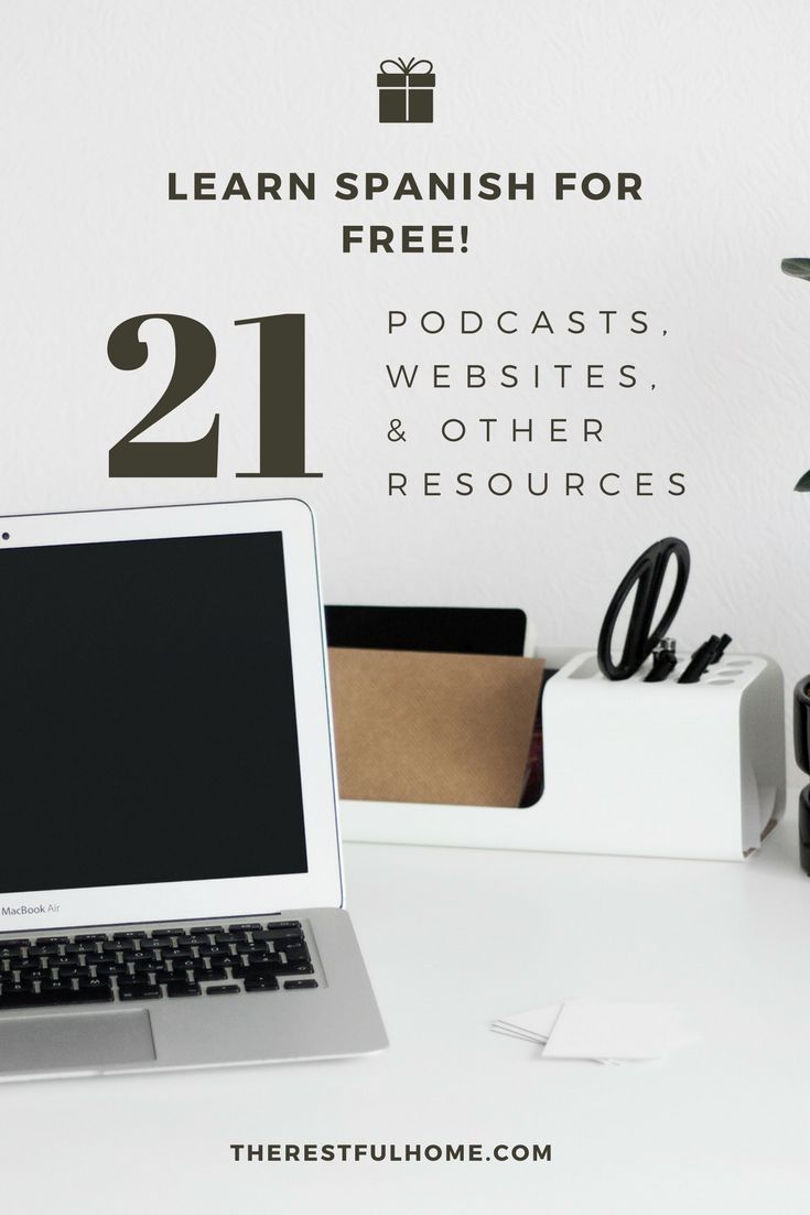If you are trying to learn Spanish right now, you will enjoy this list of 21 sites and podcasts that offer free Spanish lessons online.