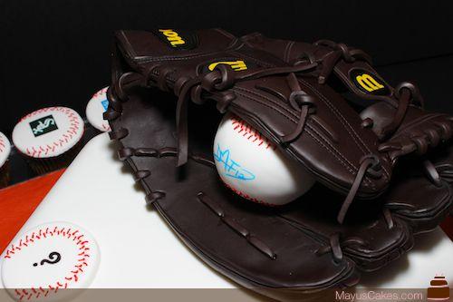Chocolate Baseball Glove