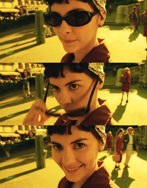 Amelie Poulain - so creative in general and in wooing her guy