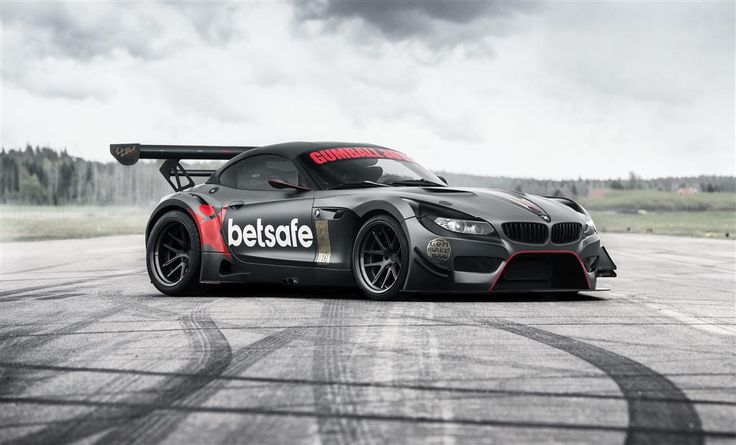 2009 BMW Z4 GT3 V Built exclusively for Gumball 3000 of WestCoast Racing The only one in the world built for road and track. GT3 body from BMW Motorsport (carbon fiber) Steel Grey Metallic. Engine: R6, petrol, 2979 cm3, single turbo converted-FFTEC (560-610 hp). 7-speed auto, rear wheel drive, customized Rotiform rims 20 inch, 13 inch wide rear (365), 11 inches front (285), Wheelbase 2576 mm.
