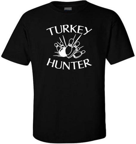 Turkey Hunter Bowling Custom,Men's Gildan T-shirt,Custom T-shirt,Cheap T-shirt,T-shirt Print,Cheap Tees