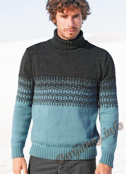 Мужской свитер (м) 880 Creations 14/15 Bergere de France №4542