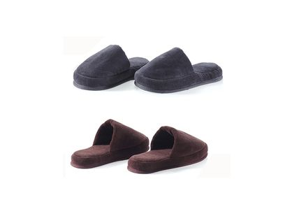 Velour Combed Cotton Slippers