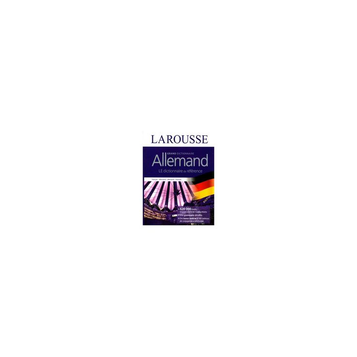 Grand Dictionnaire Allemand - Francais / Francais - Allemand (Bilingual) (Hardcover) (Pierre Grappin)