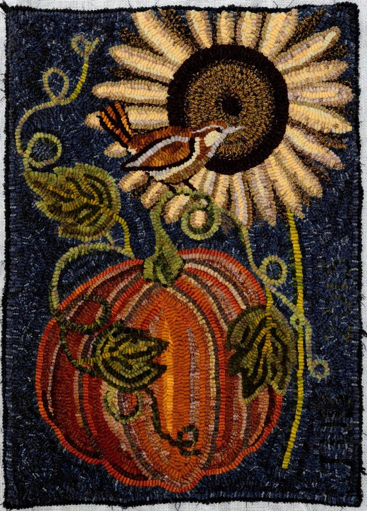 44 Best Images About Rug Hooking Halloween And Pumpkins