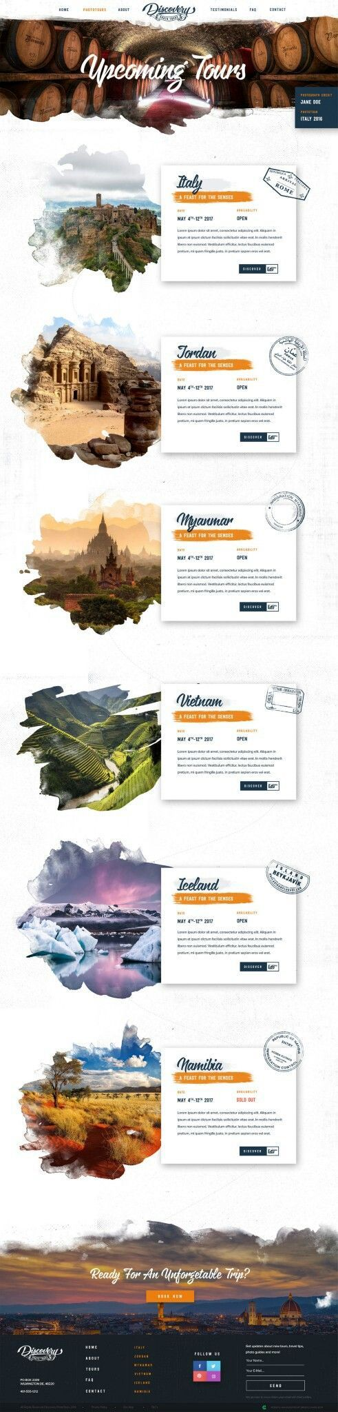 I like the layout of this webpage and also the shapes u...