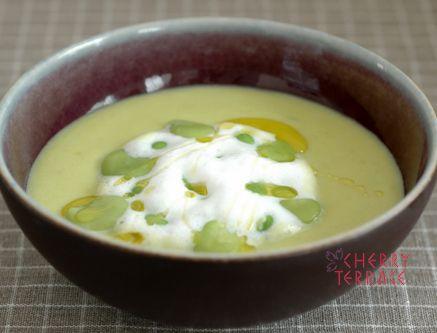 ブイヨンを使わない春の豆スープ | e-gohan