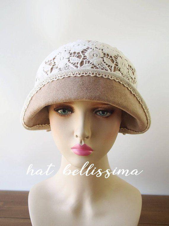 6ee58ef0009 SALE 1920 s Hat Vintage Style hat winter Hats hatbellissima ladies hats  millinery hats cloche Hats