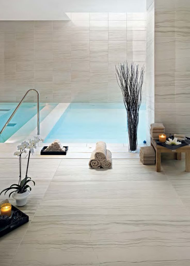 With a high anti-slip rating and low absorption rating this collection can be installed in many settings.