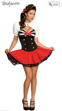 pin up girl yandycom - Pin Up Girl Halloween Costumes 2017