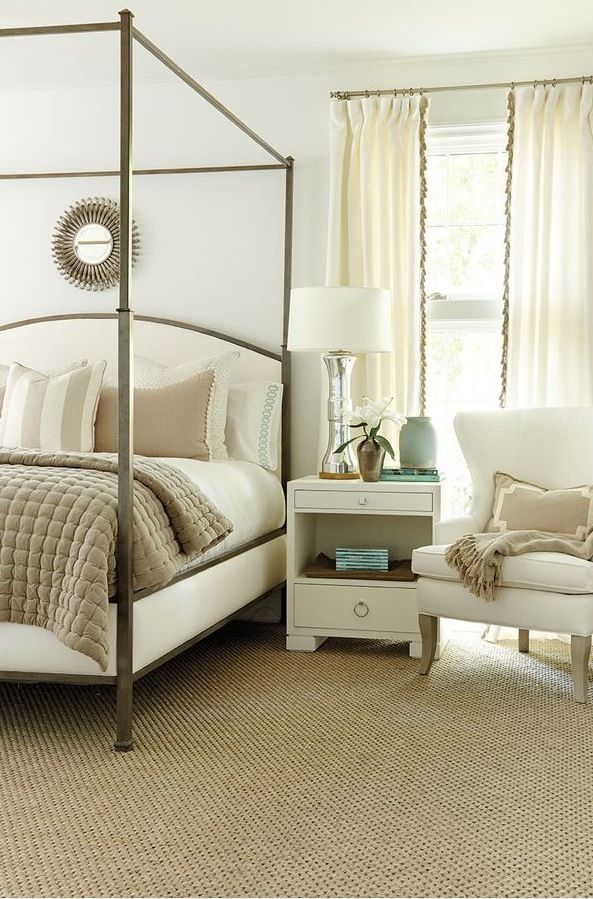 Southern idea house 2014 master bedroom drapery fabric for Southern bedroom designs
