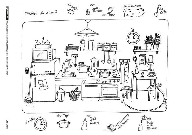 428 besten hauswirtschaft bilder auf pinterest gut zu wissen haushalte und k chen. Black Bedroom Furniture Sets. Home Design Ideas