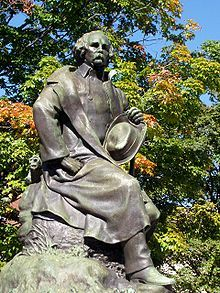 Statue of Hawthorne in Salem, Massachusetts