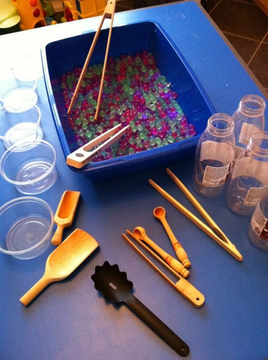 """Childminding Watford Playful Minds are ready to explore water beads ("""",)"""