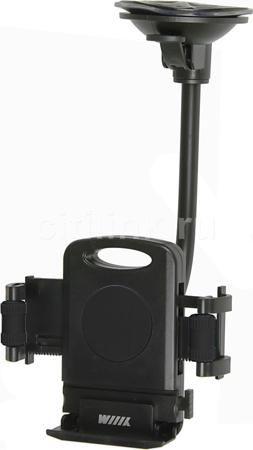 Держатель WIIIX HT-WIIIX-01Ngt, черный  — 520 руб. —  Компактный автомобильный держатель с системой быстрой установки и извлечения удерживаемого устройства и удобной, гибкой ножкой. Подходит для мобильных телефонов, iPhone, iPod, Samsung Galaxy, смартфонов, коммуникаторов, навигаторов. Лобовое стекло или любую гладкую поверхность.