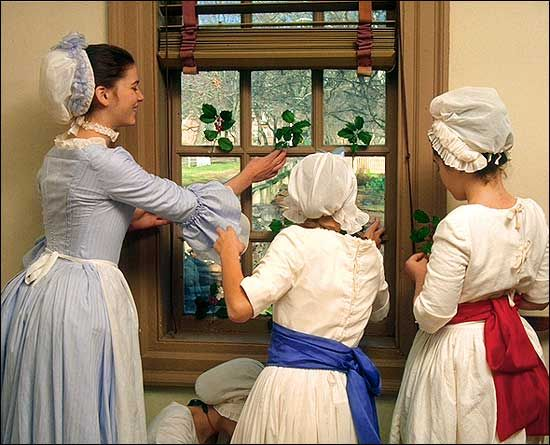 Traditions - Another Look at Christmas in the Eighteenth Century : The Colonial Williamsburg Official History Site
