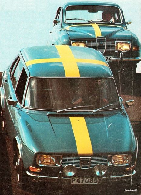Swedish SAABs by P-E Fronning, via Flickr