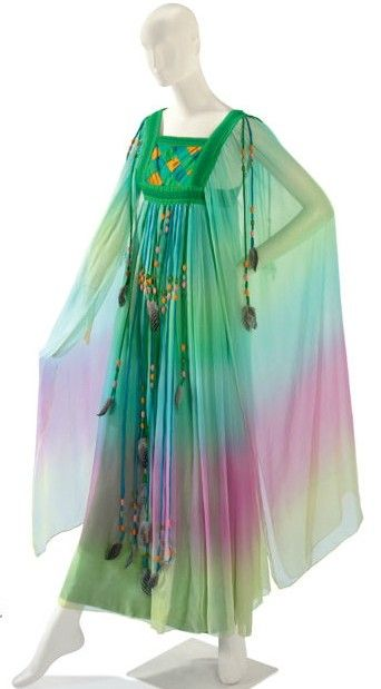 Gina Fratini caftan, owned by Liz Taylor