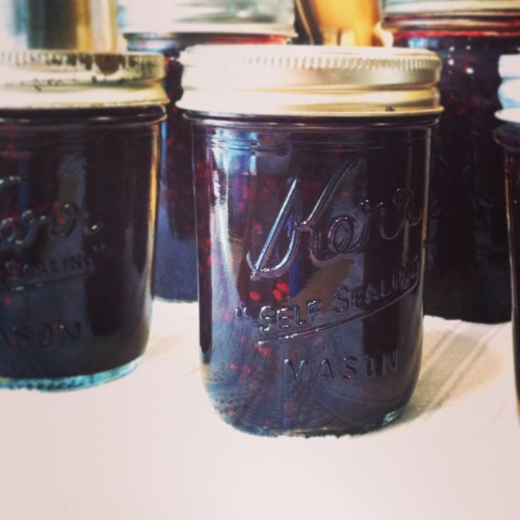 low sugar blackberry jam recipe {canned}