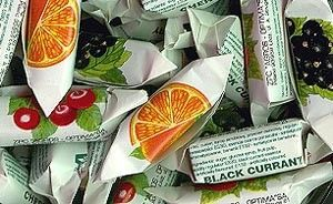 Soft centre fruit sweets...my maternal grandmother always had some in the cupboard (1950 - 56) in Nelson Road, Chingford.