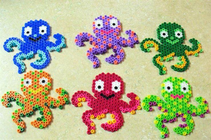 Octopus perler beads by SueMarie M. - Perler® | Gallery
